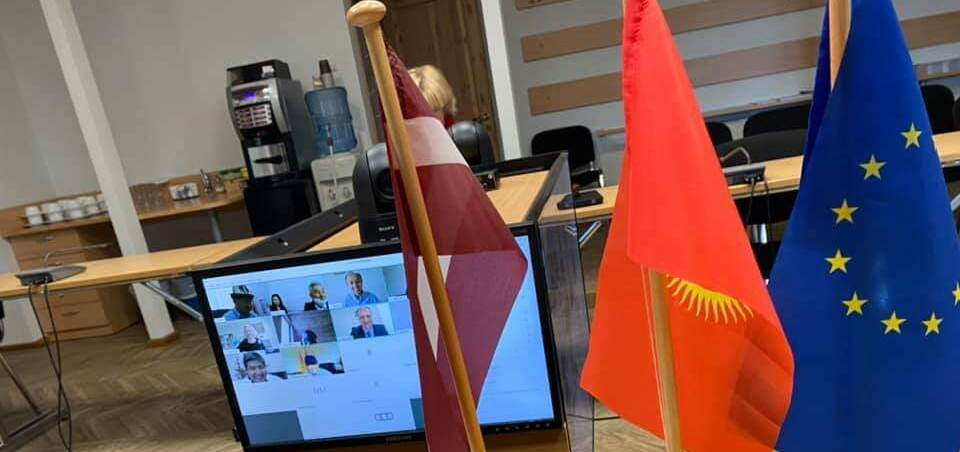 Local Governments of Kyrgyzstan and Latvia Exchange Experience
