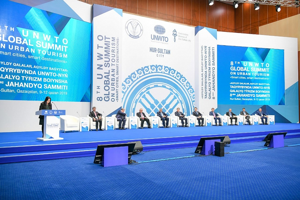 President of UCLG-Eurasia at the UNWTO Summit in Nur-Sultan