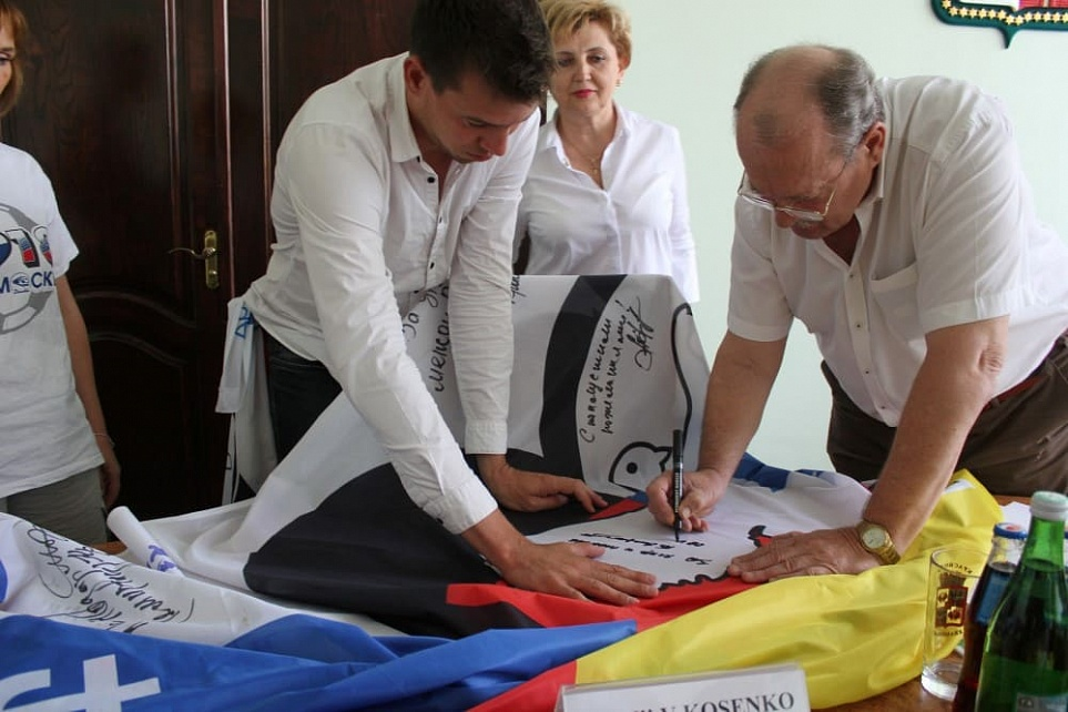 German Ambassadors of Friendship Visited the City of Krasnodar