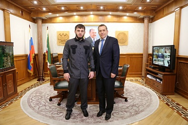 Mayor of Grozny Met with the Ambassador of the Republic of Slovenia