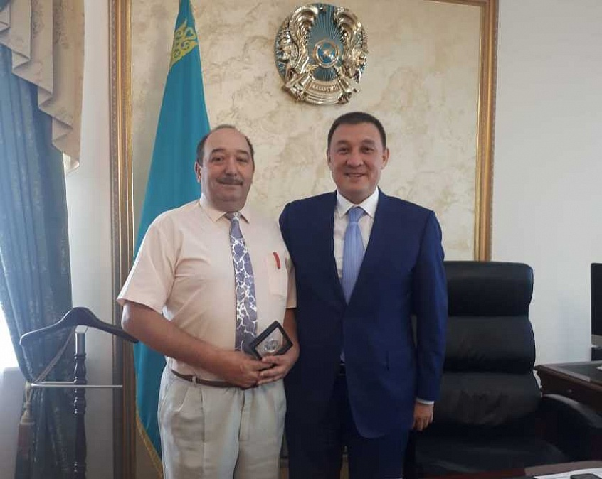 Rasikh Sagitov Met with Kazakhstan's Mayors
