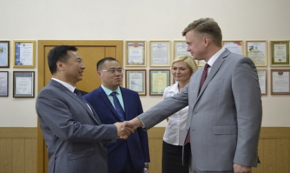 Mayor of Heihe Visited Troitsk