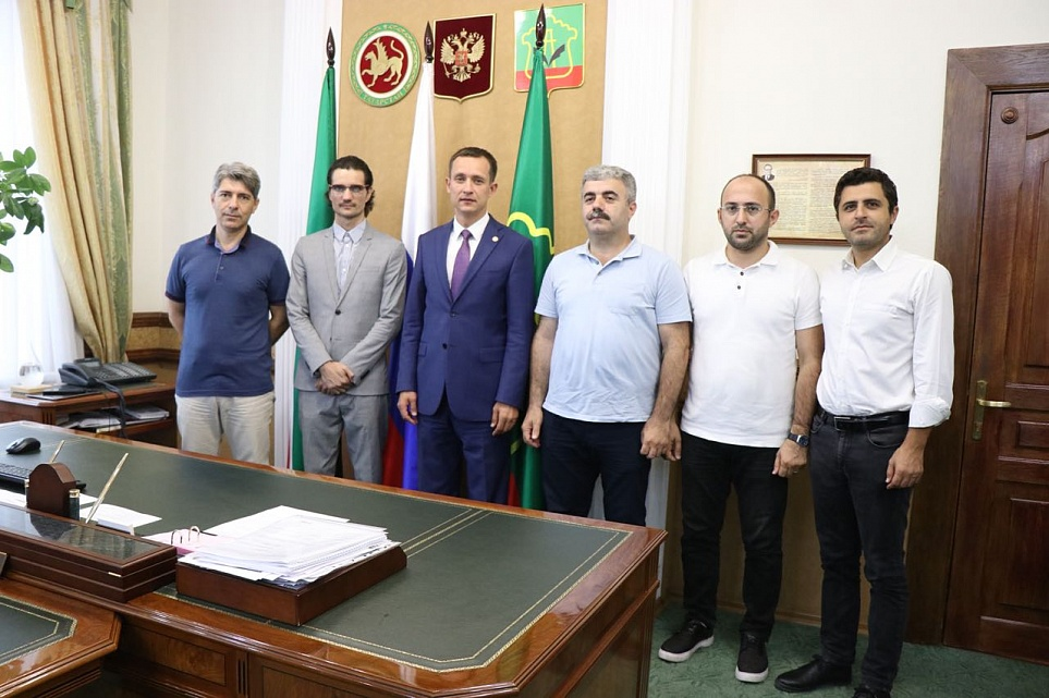 The Turkish Delegation Visited Almetyevsk