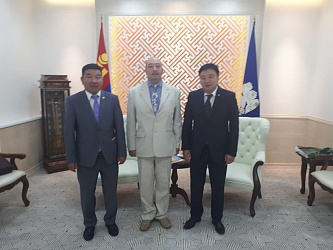 Asian Leaders Met in Ulaanbaatar
