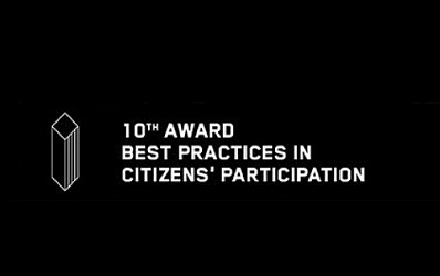 "Award for ""Best Practice in Citizen Participation"""